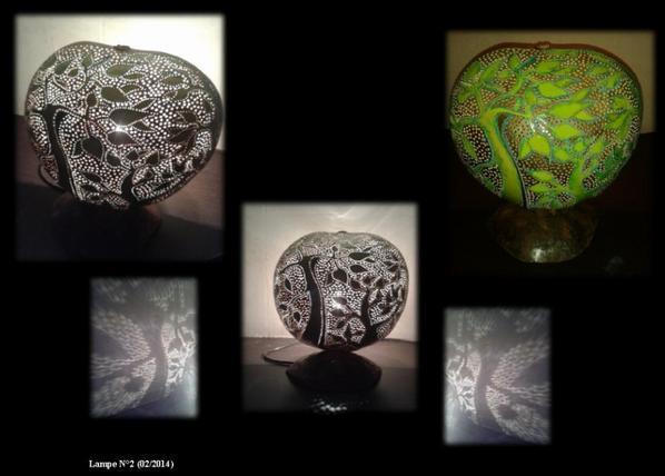 Lampe N°2 - 02/2014 -VENDU