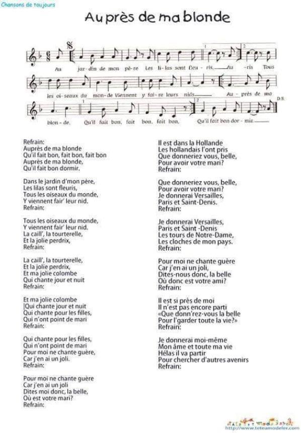 """au combien de fois l""""avons nous chanter"""