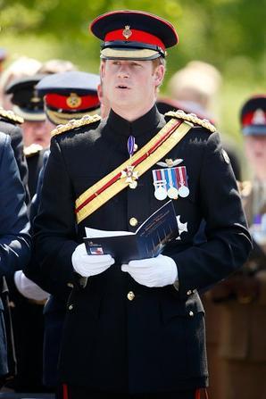 11 Juin 2015 - Le prince Harry visite Le National Memorial Arboretum