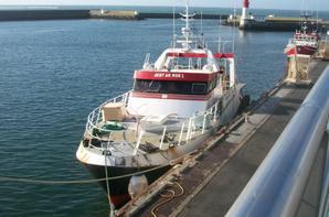 mon ancien navire de 15 jours de mer j ai fait 14 ans avec