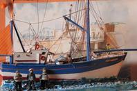 les 5 bateaux