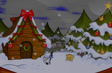 Maison: Boule à neige