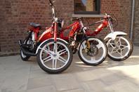 Peugeot 103, MBK 51 et Honda Camino