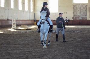 Capucine et Sourire en concours dans notre club le 23 Février 2014