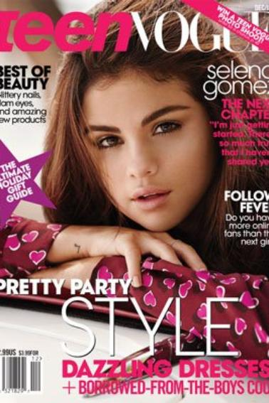 SELENA GOMEZ -- FLAUNT VS TEEN VOGUE