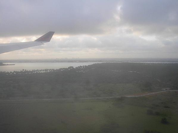 L'aéroport Félix Houphet Boigny (Abidjan , Port Bouet)