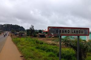 Le 2 janvier visite des environs de Grand-Lahou