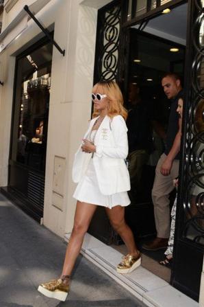 Rihanna à Paris