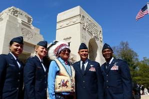 Cérémonie du Centenaire de l'Escadrille Lafayette