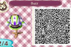 """Motif #352 """"Buzz l'éclair"""""""