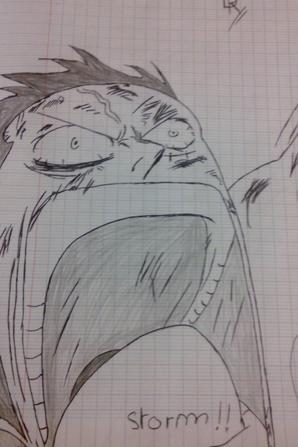 Dessins d'un ami #♥ [Pour les lovers de One Piece]