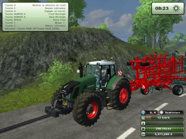 new tracteur