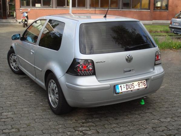 ma voiture golf 4