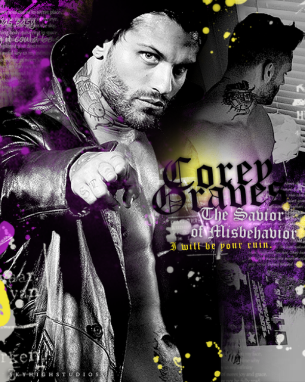 Corey Graves ♥