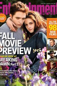 "Breaking Dawn partie 2 magazine ""Entertainment Weekly"" - Aout 2012"