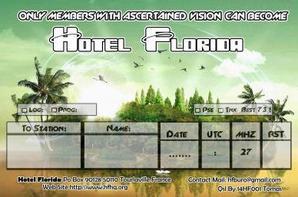 HF QSL CARD IOTA HUNTER