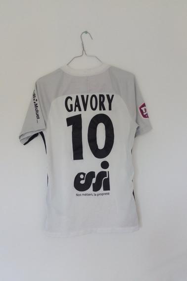 Maillot FC Metz porté par C. Gavory en championnat durant la saison 17/18