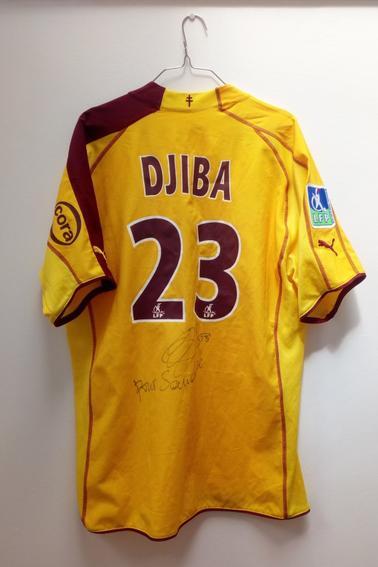 Maillot FC Metz porté par D. Djiba en Championnat durant la saison 05/06