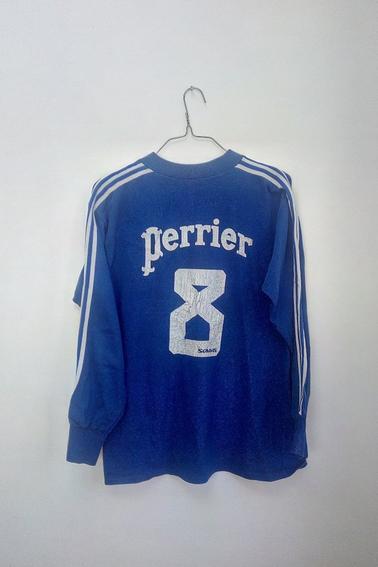 Maillot Entente Chaumont AC porté par S. Jannaud en coupe de France durant la saison 72/73