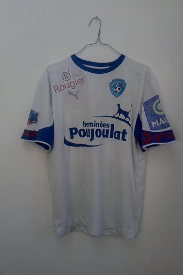 Maillot Chamois Niortais porté par P. Delecroix en championnat durant la saison xx/xx