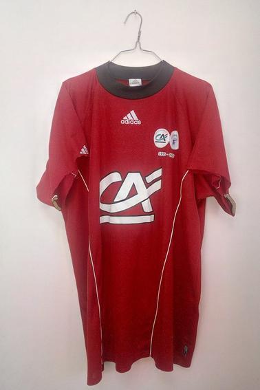 Maillot SC Amiens porté par P. Delecroix en coupe Gambardella durant la saison 04/05