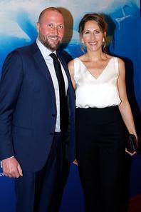 François Damiens assiste au dîner caritatif de la Fondation Maud Fontenoy pour Préservé l'océan, le 4 Juin 2015.