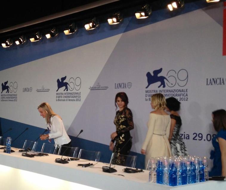 Selena Gomez - 05 septembre 2012 - Conférence de presse à Venise