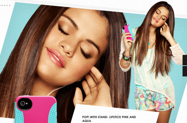"Selena Gomez - ""Right Case. Right Occasion Commercial"""
