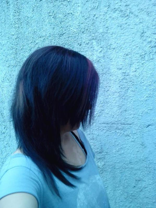ma nouvelle coiffure