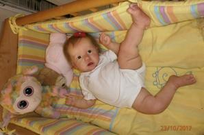 Ma petite Saskia !