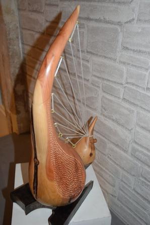 Sculpture bois de cade