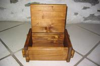 JOUET BOIS - BOITE A PEINTURE, CRAYONS.....            /       ABRACADABOIS Jouets et petits mobiliers en bois