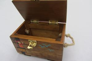 Jouet bois / Coffre aux trésors personnalisé / Abracadabois / fabrication artisanale et française / sur commande