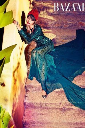 Rihanna fait la Une de Harper's Bazaar !