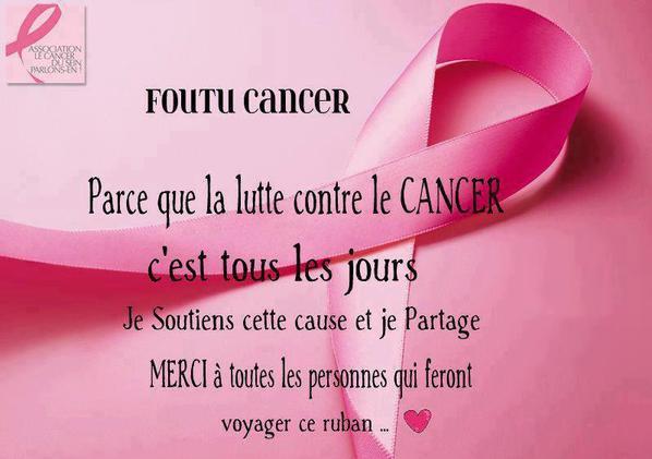 Luttons contre le cancer !:(