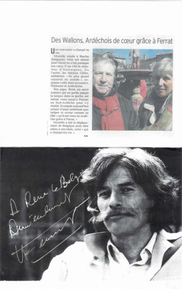 En souvenir de notre ami René Randour