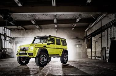 1 res photos du nouveau mercedes g500 4x4 puissance 2 mercedes benz galaxy. Black Bedroom Furniture Sets. Home Design Ideas