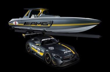 La Mercedes AMG GT3 des mers par Cigarette Racing !