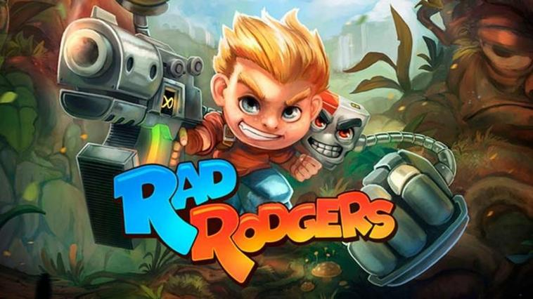Rad Rodgers Disponible sur Xbox One & Ps4 Steam