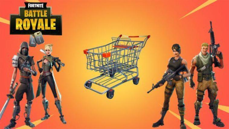 Fortnite : nouveau véhicule, chariot de supermarché, où les trouver