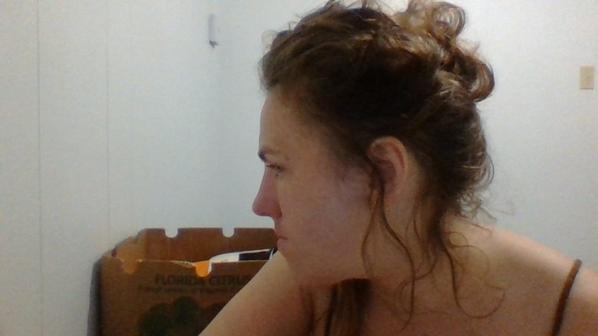 de profil