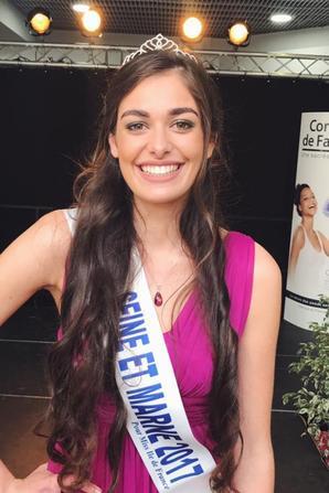 Miss Seine et Marne 2017 est Lison Di Martino