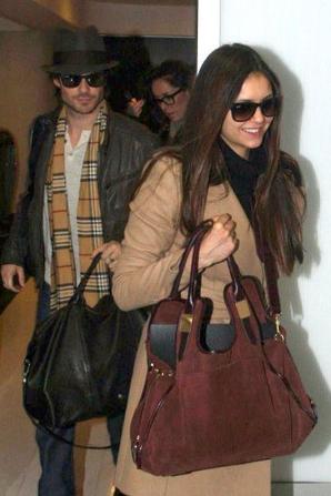 Nina se rendant en Asie