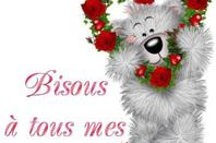 BON WEEK END A VOUS TOUS ET TOUTES.... BISOUSSS... !!!