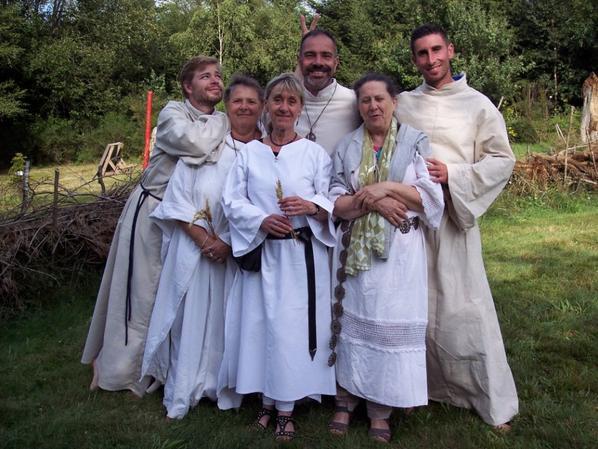Rassemblement druidique au Nemeton