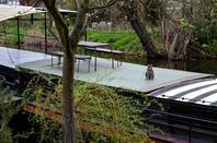 Le Canal de l'Ourthe et ses bateaux-logements...