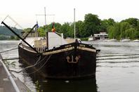 Le SPES MEA après la traversée Wépionnaise croisera le CURSOR à sa sortie de La Plante...