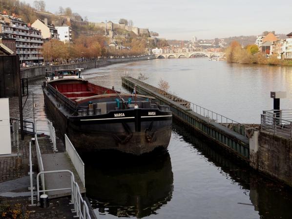 Encore une petite journée pour le trafic sur la Haute-Meuse  :(