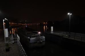 COBRA et ALYCIA  se sont croisés sur la Haute-Meuse avant le levé de ce jour d'anniversaire de mariage royal...