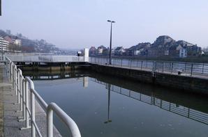 Journées Wallonnes de l'Eau - Visite de l'écluse de La Plante - Contrat Rivière Haute-Meuse - suite.